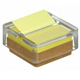 Turētājs POST-IT Z-veida līmlapiņām + Z-Notes dzeltenas līmlapiņas 1blociņš