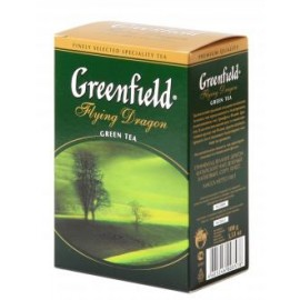 Beramā zaļā tēja GREENFIELD FLYING DRAGON, 100 g