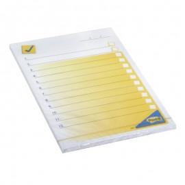 Piezīmju līmlapiņas POST-IT Darbu saraksts ar izmēru 102x149mm, 50 lapiņas