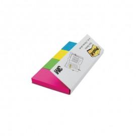 Pašlīpošie papīra indeksi POST-IT 20 x 38 mm, 4 krāsas