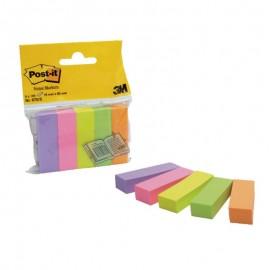 Pašlīpošie indeksi POST-IT 15x50mm, 5 krāsas, papīra