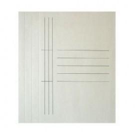 Mape dokumentiem Smiltainis kartona A4, balta (SEG-AR7)
