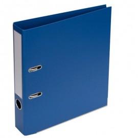 Mape-reģistrs A4 formāts, 50mm, zila, apakšējā mala ar metālu