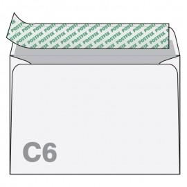 Aploksnes Postfix C6 RH 114x162mm, 50 gab/iepakojumā