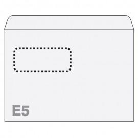 Aploksnes Postfix ar logu E5 RH 156x220mm, (140720VA), 25 gab/iepakojumā