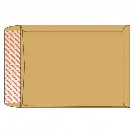 Aploksne Kuvert B4 brūna (ar ielocēm) 250x40x353x40, 130g/m2