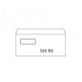 Aploksnes POSTAC ar logu E65 RH formāts, 110x220mm, 1000gab/iep logs 60 x 90mm