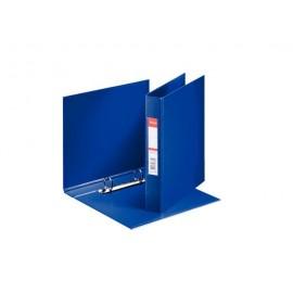 Mape Esselte A5 formāts, 2 riņķi 25mm, muguriņa 35mm, zila