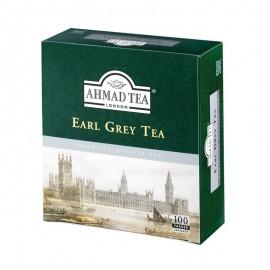 Melnā tēja AHMAD EARL GREY, 100 maisiņi x 2 g paciņā
