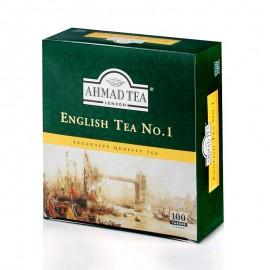 Melnā tēja AHMAD ENGLISH TEA No.1, 100 maisiņi x 2 g paciņā