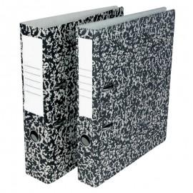 Mape-reģistrs A4 formāts, 50mm, raibs raksts