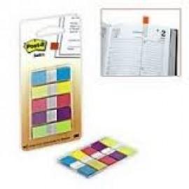Pašlīpošie indeksi POST-IT 12x43 mm 5 krāsas