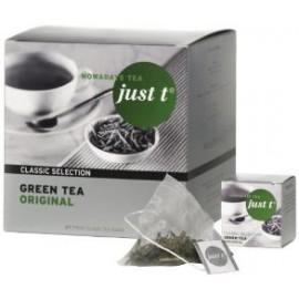 Zaļā tēja JUST T ORIGINAL, 27 x 1.5 g piramīdas maisiņi paciņā