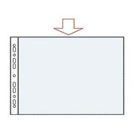 Kabata dokumentiem Esselte A3 horizontāla, 75mic, matēta, 50 gab./iepakojumā