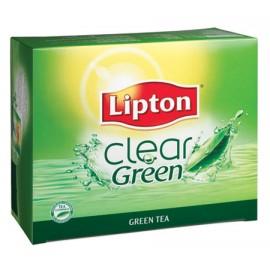 Zaļā tēja LIPTON, 25 maisiņi kastītē