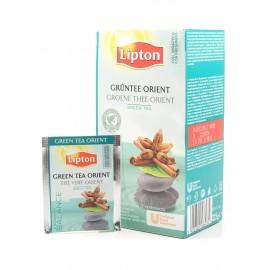 Zaļā tēja LIPTON GREEN ORIENT, 25 maisiņi kastītē