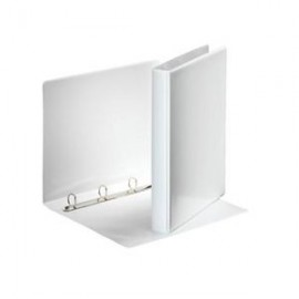 Mape ESSELTE Panorama A4 formāts platums 25 mm, 4O, riņķa diam.16 mm, balta
