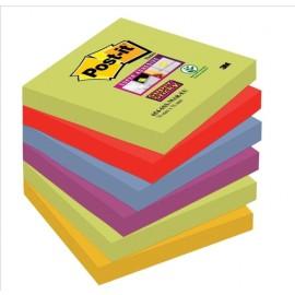 Piezīmju līmlapiņas POST-IT MARRAKESH Super Sticky Z-Notes, 76x76mm, asorti